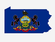 State of Pennsylvania flag
